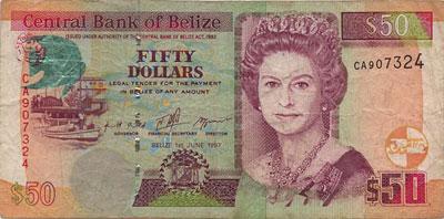 Доллар Белиза