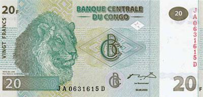 Конголезский франк