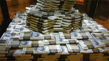 США напечатают еще 600 млрд бумажных долларов