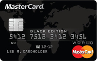Карта World MasterCard Black Edition